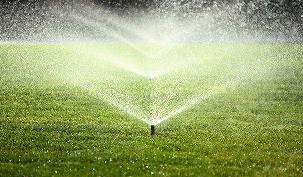Buen diseño de sistema de irrigación